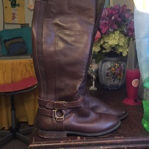 Marc Jacobs leather boots